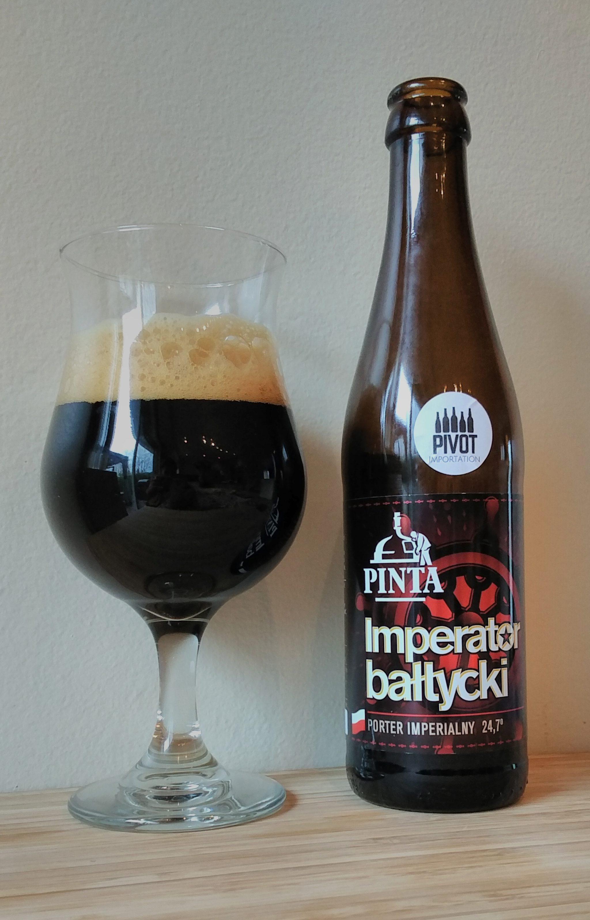 Dégustation bière importation Pinta