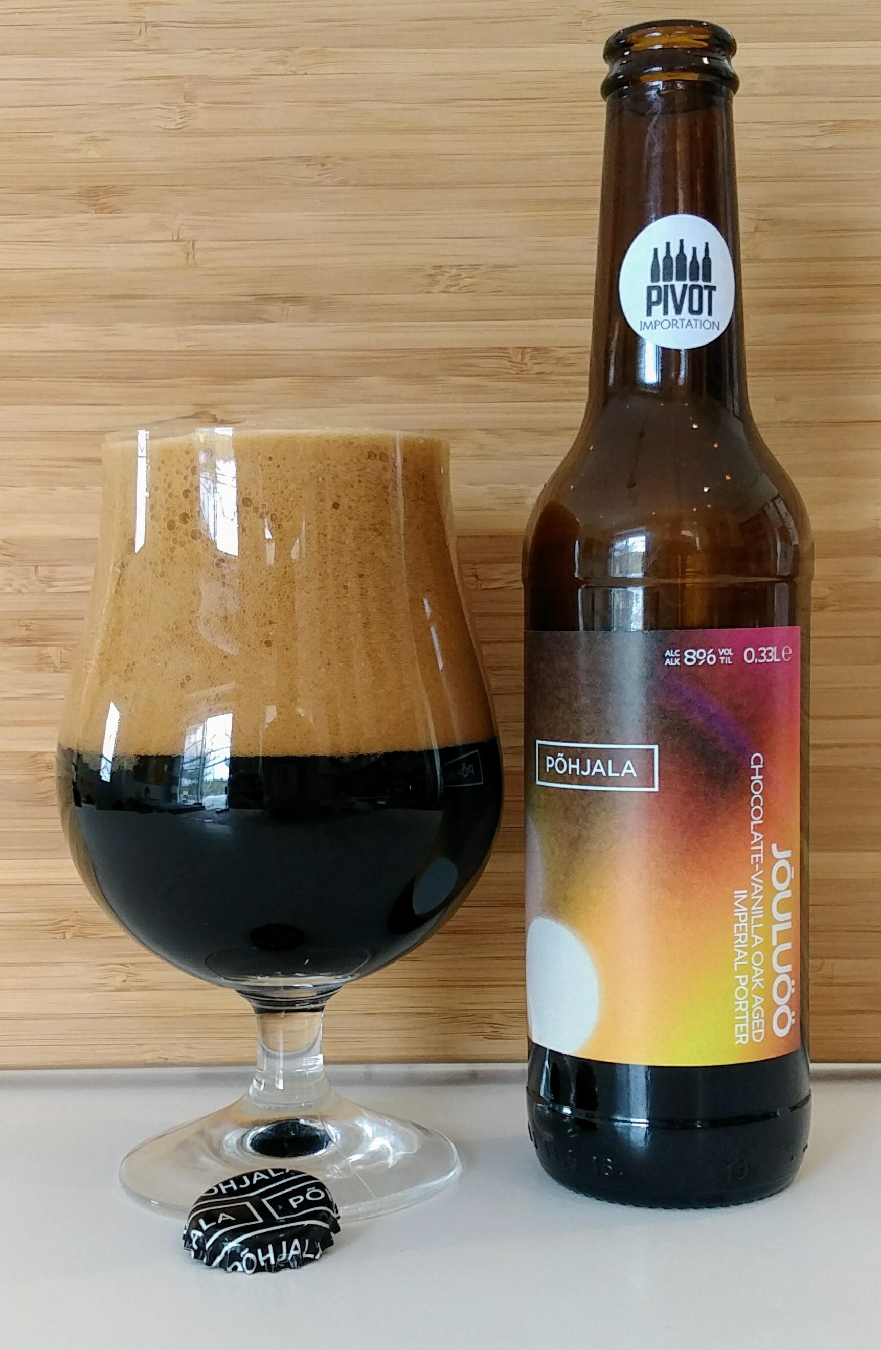 Note degustation Pohjala Jouluoo importation bière