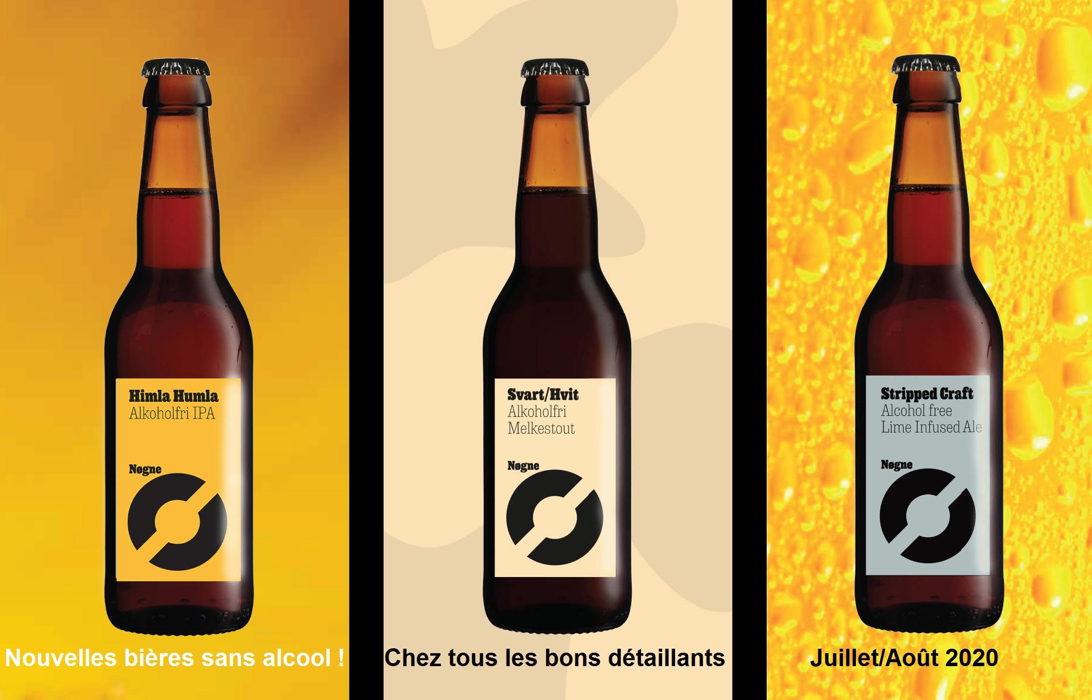 Lancement bières sans alcool Nøgne Ø