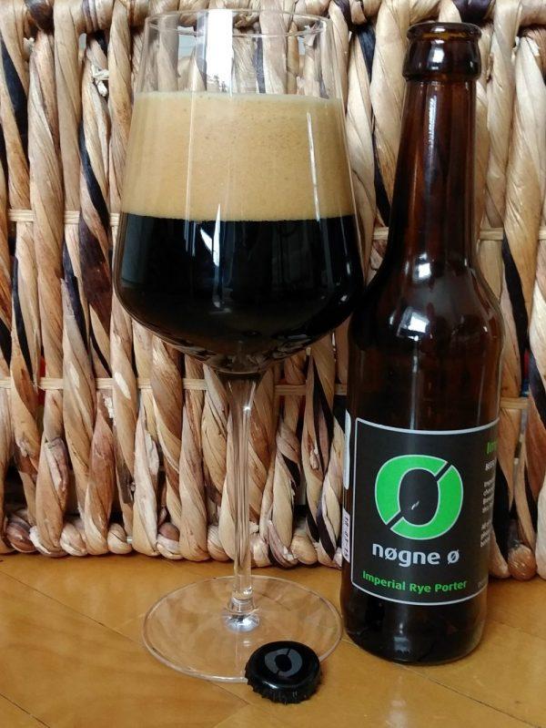 Dégustation Nogne O Imperial Rye Porter Importation biere